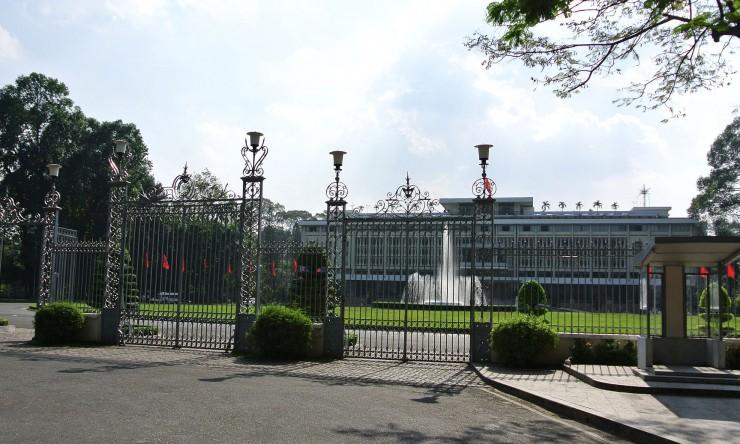 統一会堂(トンニャット宮殿)・旧南ベトナム共和国大統領宮殿