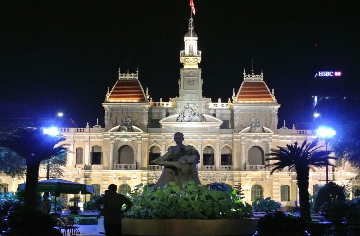 ホーチミン市人民委員会庁舎(旧サイゴン市庁舎)