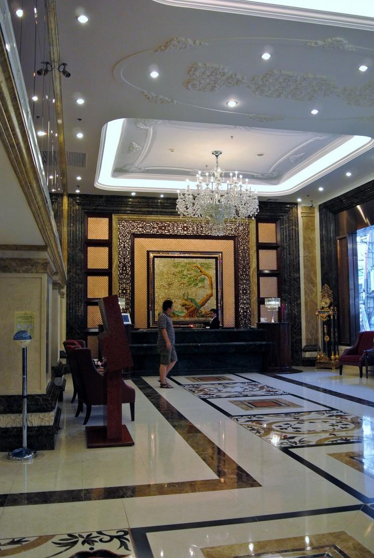 ウィンザープラザホテル(サイゴン)のフロント