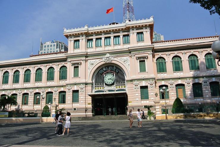 中央郵便局(サイゴン中央郵便局)