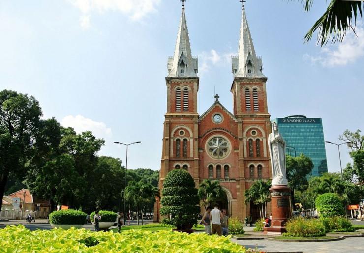 サイゴン大教会(聖マリア大聖堂)