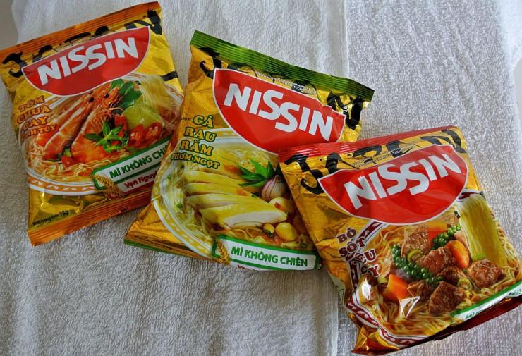 NISSIN(日清の即席めん・インスタントラーメン)
