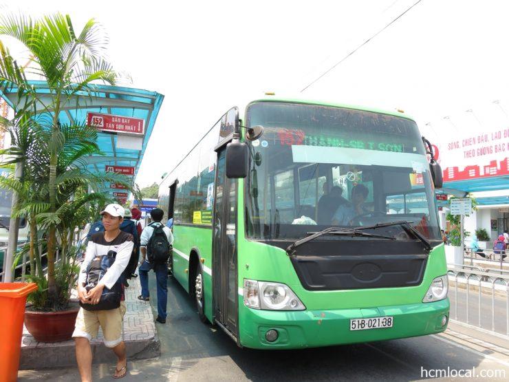 152番バス(タンソンニャット国際空港行きローカルバス)